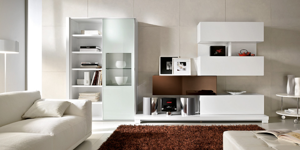 Soggiorni Moderni Quarrata : Soggiorno moderno con vetrina great soggiorni moderni